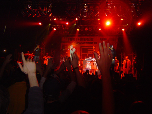 Fort Minor live on Stage