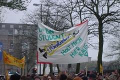 Demo gegen Studiengebühren - 29.11.2005