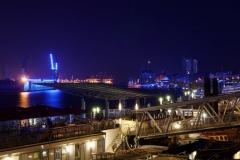 Blaue Nacht unten am Hafen DRI - 29.07.2010